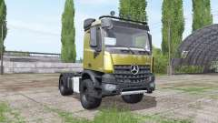 Mercedes-Benz Arocs 2043 2013 v1.2 for Farming Simulator 2017