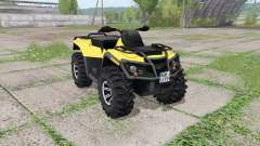 Can-Am Outlander 1000 XT v2.0 for Farming Simulator 2017