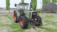 Fendt Farmer 312 LSA Turbomatik loader mounting for Farming Simulator 2017