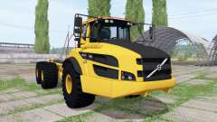 Volvo A40G FS hooklift v0.5 for Farming Simulator 2017