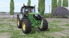 John Deere 6115M wide tyre for Farming Simulator 2017