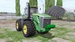 John Deere 9630 weight for Farming Simulator 2017