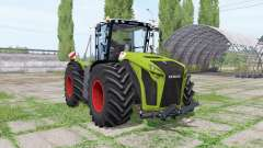 CLAAS Xerion 5000 Trac VC green for Farming Simulator 2017