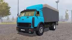 MAZ 500 container blue for Farming Simulator 2013