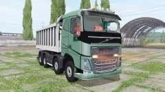 Volvo FH 540 8x8 tipper for Farming Simulator 2017