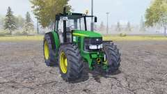John Deere 6920 green for Farming Simulator 2013