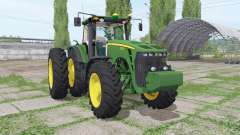 John Deere 8530 dual rear for Farming Simulator 2017
