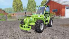 Merlo P41.7 Turbofarmer rear hydraulics for Farming Simulator 2015
