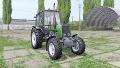 Belarus MTZ 1025 green for Farming Simulator 2017