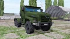 Ural Typhoon-U (63095) 2014 truck v1.1 for Farming Simulator 2017