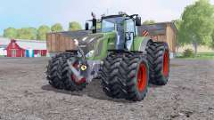 Fendt 828 Vario twin wheеls for Farming Simulator 2015