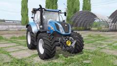 New Holland T6.165 loader mounting for Farming Simulator 2017