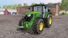 John Deere 6170M loader mounting for Farming Simulator 2015