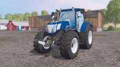 New Holland T7.270 Blue Powеr for Farming Simulator 2015