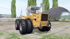RABA-Steiger 250 twin wheels for Farming Simulator 2017