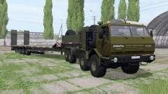 KrAZ 7Э6316 Siberia for Farming Simulator 2017
