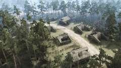 Abandoned village for MudRunner