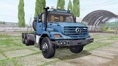 Mercedes-Benz Zetros 3643 AS 6x6 for Farming Simulator 2017