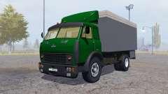 MAZ 500 container green for Farming Simulator 2013