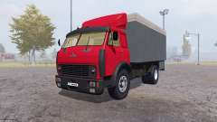 MAZ 500 container red for Farming Simulator 2013