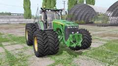 John Deere 8530 twin wheels for Farming Simulator 2017