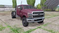Chevrolet Silverado 4500HD Crew Cab 2018 for Farming Simulator 2017