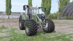 Fendt 724 Vario wide tyre for Farming Simulator 2017