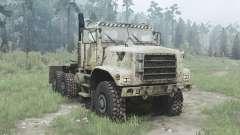 Oshkosh MTVR 6x6 tractor (MK31) for MudRunner