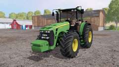 John Deere 8330 weight for Farming Simulator 2015