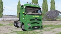 Mercedes-Benz Actros SLT (MP4) John Deere for Farming Simulator 2017