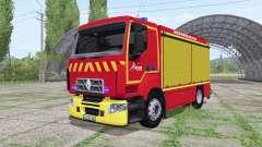 Renault D Sapeurs-Pompiers for Farming Simulator 2017