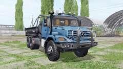 Mercedes-Benz Zetros 3643 A Farmtech v3.0 for Farming Simulator 2017