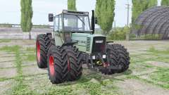 Fendt Farmer 310 LSA Turbomatik double wheels for Farming Simulator 2017