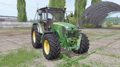 John Deere 5075M loader mounting for Farming Simulator 2017