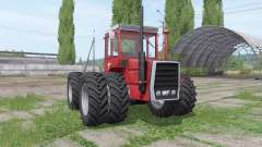 Massey Ferguson 1200 twin wheels for Farming Simulator 2017