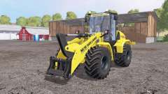 New Holland W170C v1.1 for Farming Simulator 2015