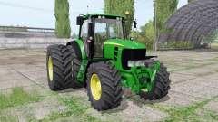 John Deere 7530 Premium dual rear for Farming Simulator 2017