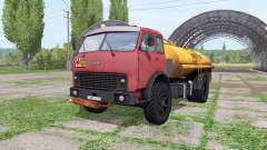 MAZ-500 tanker v2.2 for Farming Simulator 2017