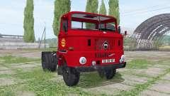 IFA W50 L semi-trailer for Farming Simulator 2017