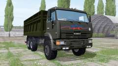 KAMAZ 65115 v1.4 for Farming Simulator 2017