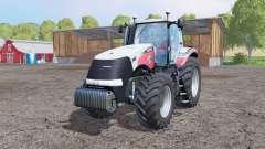 Case IH Magnum 340 CVX Silver Edition for Farming Simulator 2015