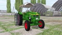 Deutz D 40S 4WD for Farming Simulator 2017