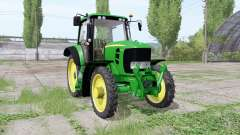 John Deere 7430 Premium narrow tires for Farming Simulator 2017