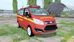 Ford Transit Custom Kombi Feuerwehr v0.9 for Farming Simulator 2017