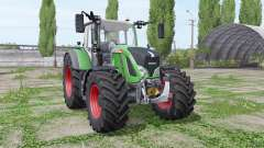 Fendt 724 Vario wide tyrе for Farming Simulator 2017