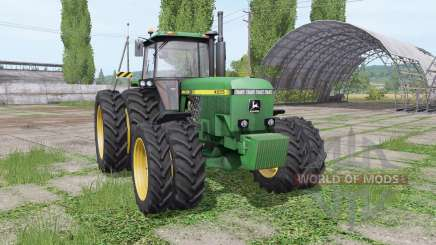 John Deere 4555 v4.0.0.1 for Farming Simulator 2017