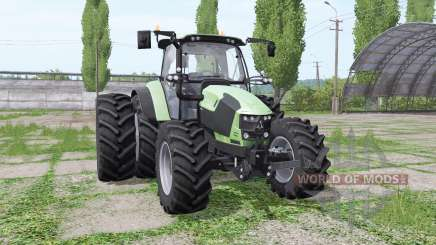 Deutz-Fahr 5110 TTV v1.2 for Farming Simulator 2017