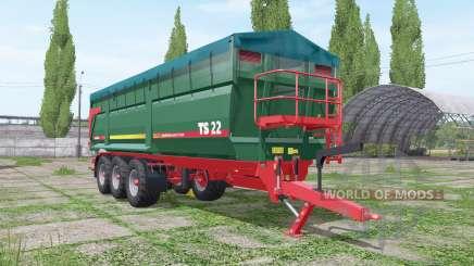 METALTECH TS 22 for Farming Simulator 2017