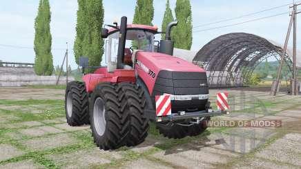 Case IH Steiger 370 twin wheels for Farming Simulator 2017