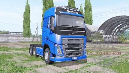 Volvo FH16 750 Globetrotter v1.2 for Farming Simulator 2017